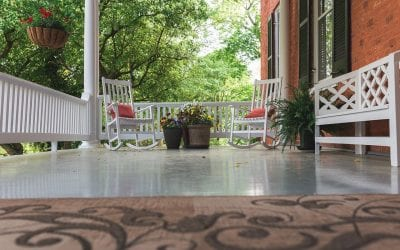 4 Inexpensive Ways to Improve Your Porch